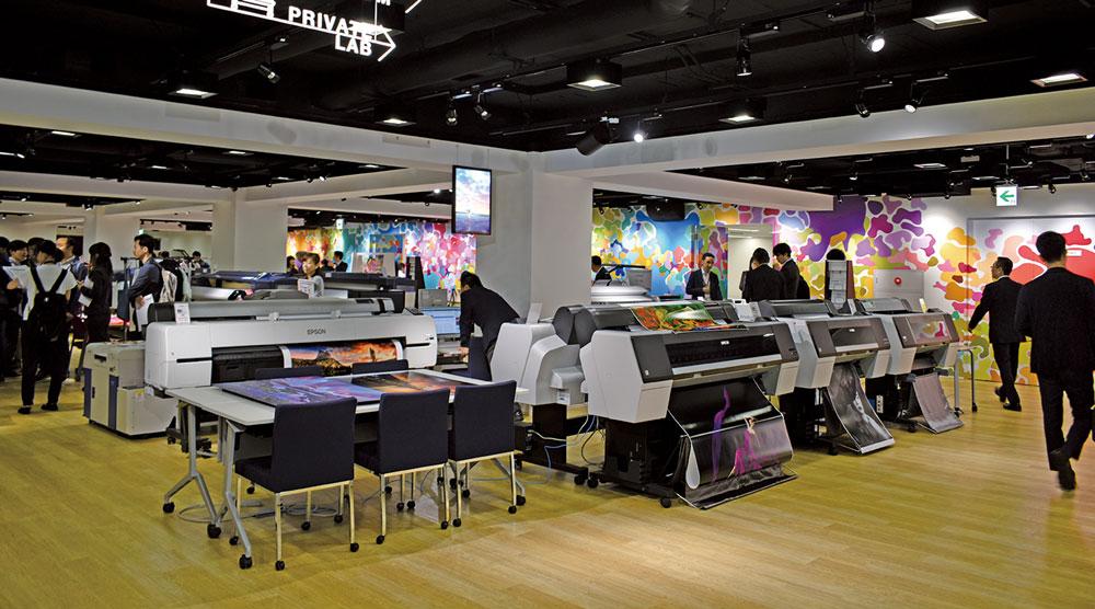 de5da8eed1 エプソン販売 東京・丸の内にユーザー体験型のショールームをオープン ...